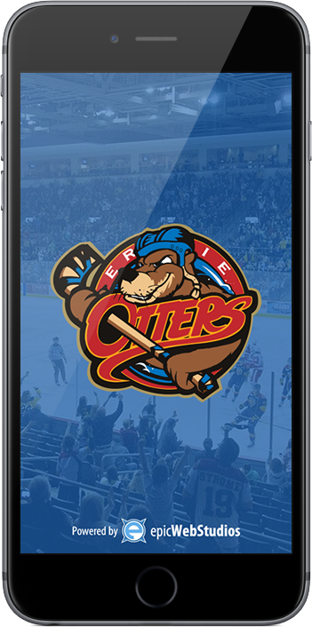 Erie Otters Mobile App on iPhone and iPad
